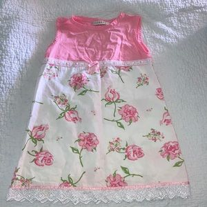 Girl's 3T Floral Printed Dress